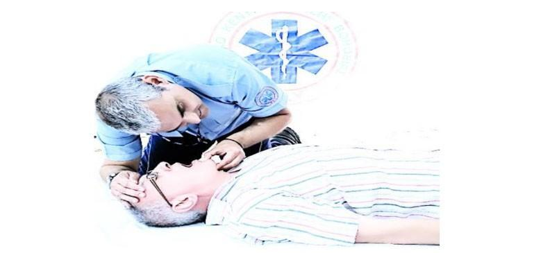 Την Καρδιοπνευμονική Αναζωογόνηση (ΚΑΡΠΑ) :