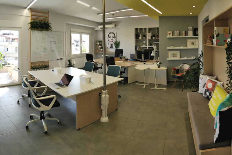 Dedicated desk - Coworking space Heraklion Crete